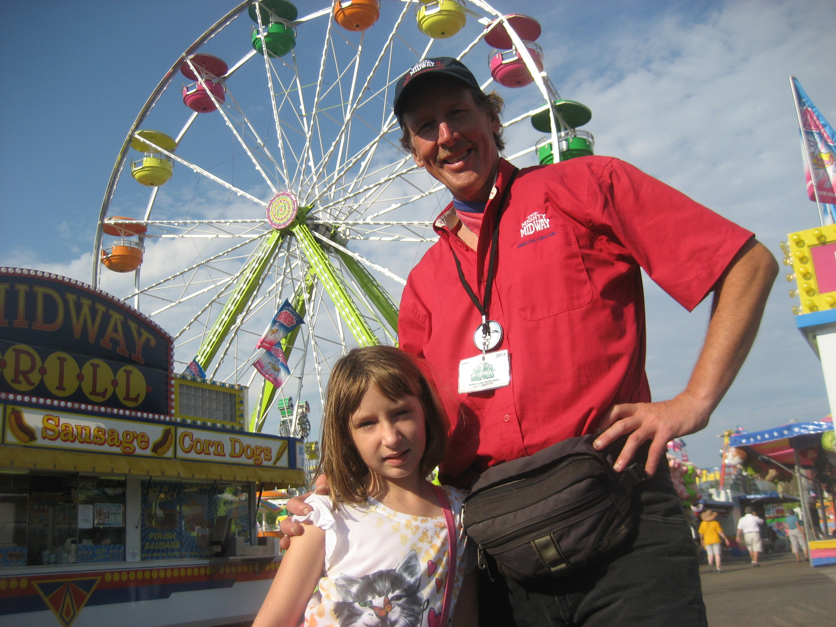 Minnesota State Fair me and Grace