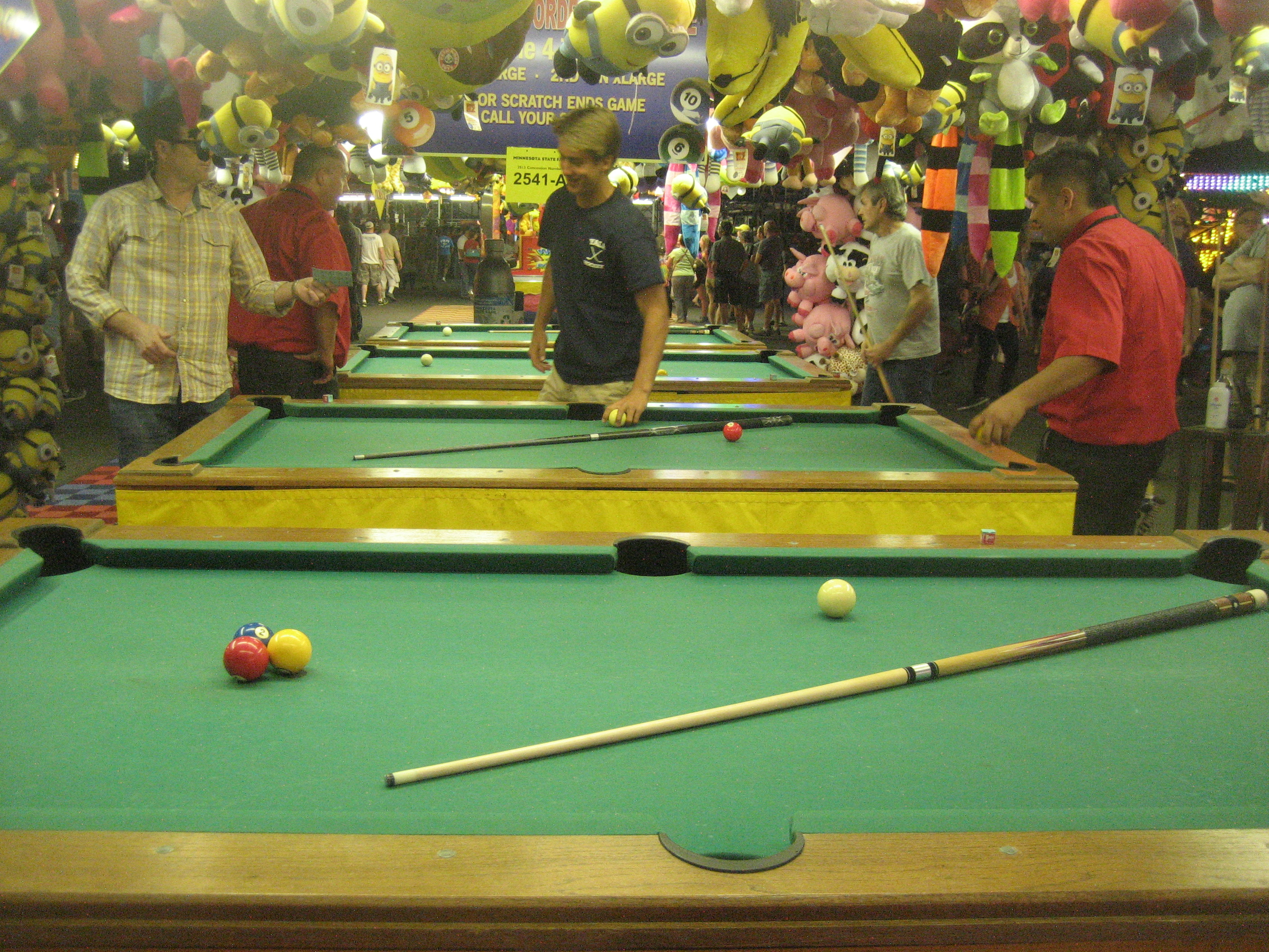 Minnesota State Fair pool hall best